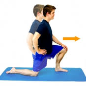 hip flexion stretch