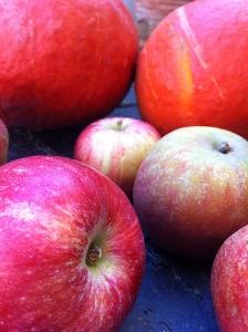 close up æble