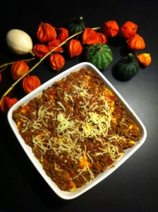 Butternut Squash lasagne – Palæo style