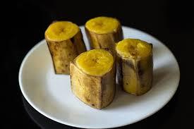 banana da terra cozida