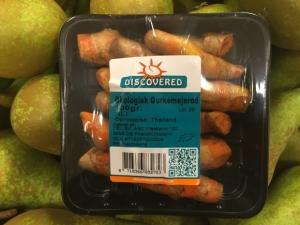 økologisk gurkemejerod