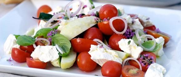 Luksuriøs græsk salat