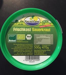 Upasteuriseret Sauerkraut