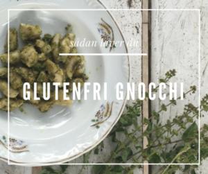 Glutenfri Gnocchi